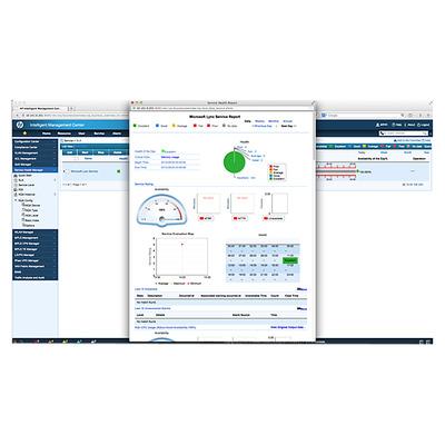 Hewlett Packard Enterprise IMC Service Health Manager Software