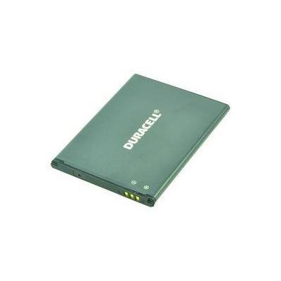Duracell batterij: 3.85V, 1900mAh, Samsung Galaxy S4 Mini, 34g - Grijs