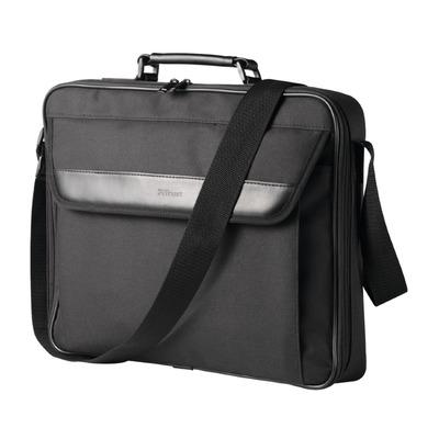 Trust Atlanta   Laptop Schoudertas   16 inch   Zwart Laptoptas