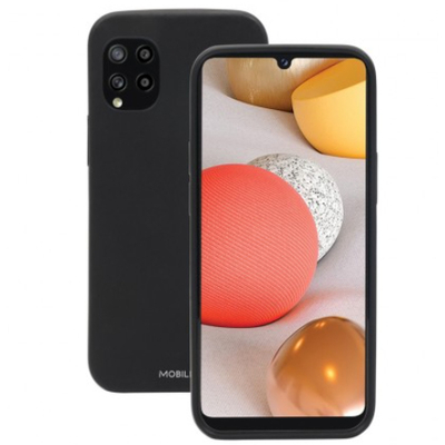 Mobilis T series protective case for Galaxy A42 5G Mobile phone case - Zwart