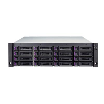 Qsan Technology XCubeDAS XD5316-D SAN - Zwart