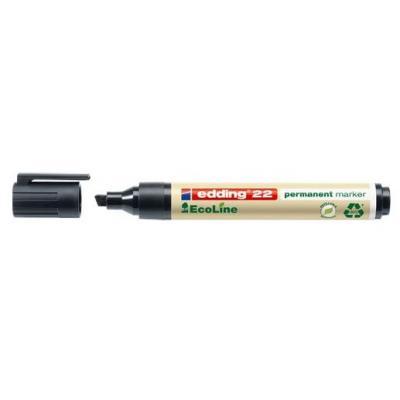 Edding marker: Zwart - 001, 22 permanent marker - Multi kleuren