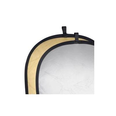 Walimex fotostudioreflector: Foldable Reflector golden/silver, 102x168cm - Goud, Zilver