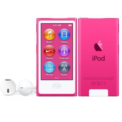 Apple MP3 speler: iPod Nano 16GB - Roze
