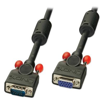 Lindy 36390 VGA kabel  - Zwart