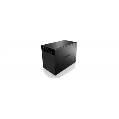 "Raidsonic SAN: External 4x JBOD enclosure with eSATA and USB 3.0 for 3.5"" SATA hard drives"