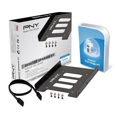 PNY Desktop Upgrade Kit Computerkast onderdeel - Zwart