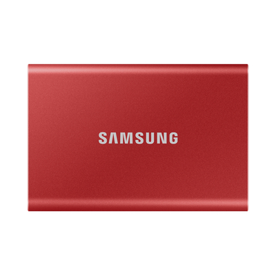 Samsung Portable SSD T7 - Rood