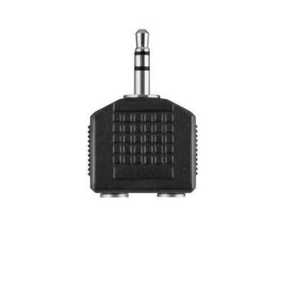 Belkin kabel splitter of combiner: Audio Splitter 3.5mm - Zwart