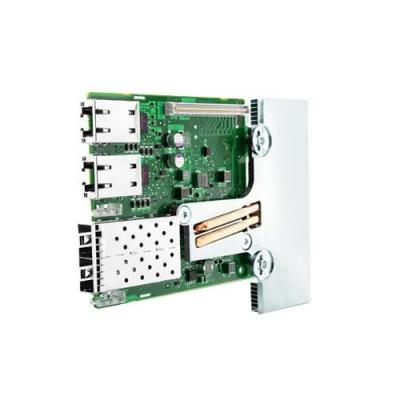 Dell netwerkkaart: Broadcom 57800 2x10 Gb DA/SFP+ + 2x1 Gb BT Netwerkdochterkaart - Groen