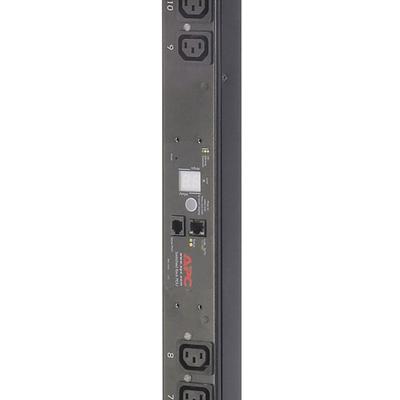 APC Rack PDU, Switched, ZeroU, 10A, 230V, (16x) C13, C14 stekker Energiedistributie - Zwart