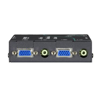 Black Box Wizard Multimedia Receiver w/ Dual Video/Stereo Audio Ports & CATx Daisychain Port & Integral Deskew .....