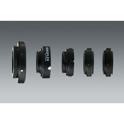Novoflex lens adapter: Adapter M 42-Obj. an Four Thirds Kameras - Zwart