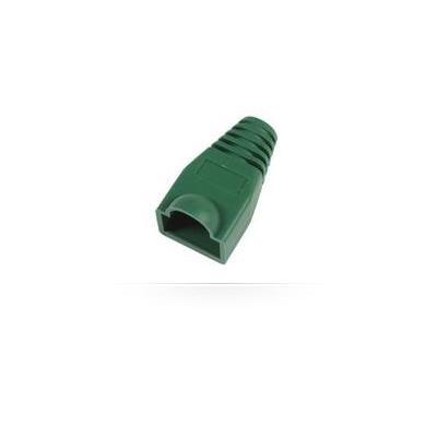 Microconnect kabelbeschermer: Boots RJ45, 25pack - Groen