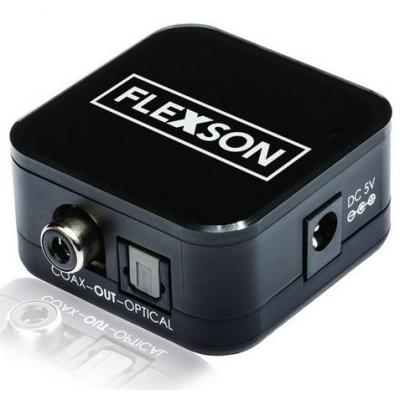 Flexson audio converter: Analogue to Digital Converter for Sonos Playbar - Zwart