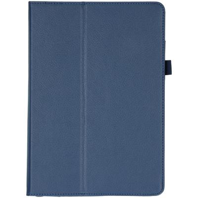 CP-CASES Effen Bookcase iPad 10.2 (2019 / 2020) - Donkerblauw - Donkerblauw / Dark Blue Tablet case