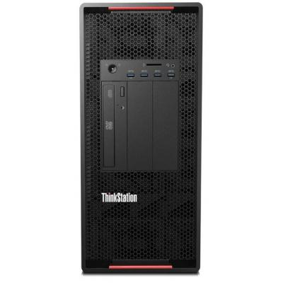 Lenovo pc: ThinkStation P900 - Zwart