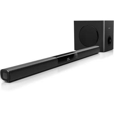 Philips soundbar speaker: SoundBar-luidspreker HTL3110B/12 - Zwart