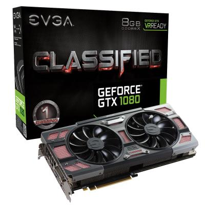 Evga videokaart: GeForce GTX 1080