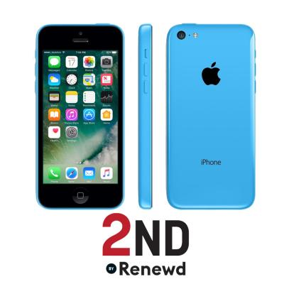2nd by renewd smartphone: Apple iPhone 5C refurbished door 2ND - 32GB Blauw (Refurbished AN)