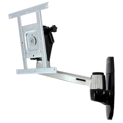 Ergotron LX HD Wall Mount Swing Arm Montagehaak - Aluminium