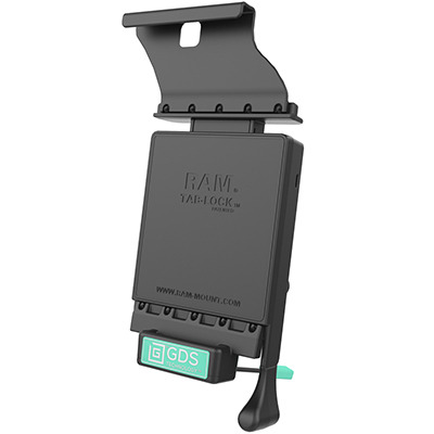 RAM Mounts RAM-GDS-DOCKL-V2-SAM19U Mobile device dock station - Zwart