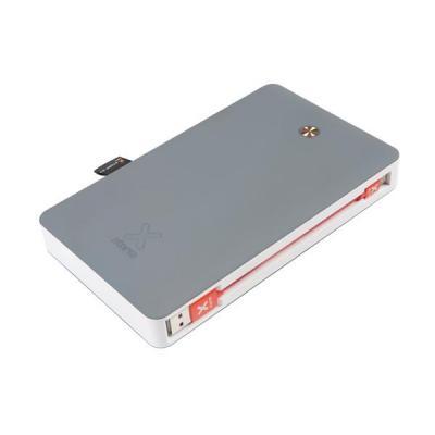 Xtorm powerbank: 45W, 26800mAh, Li-ion, 3x USB, 1x USB-C - Grijs, Wit