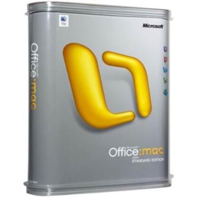 Microsoft Office Mac 2011 Standard, Sngl LicSAPk, OLV NL, 1Y Aq Y1 AP Software suite