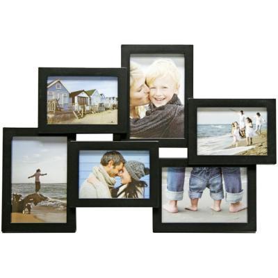 Henzo fotolijst: Holiday Gallery 6x - Zwart