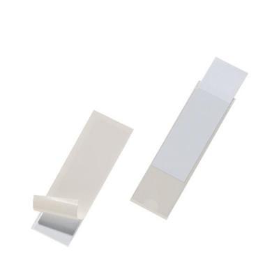 Durable etiket: Pocketfix - Transparant