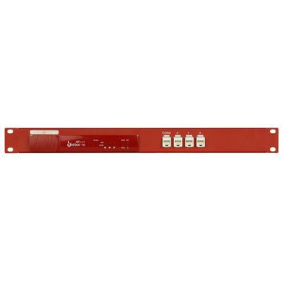 Rackmount.IT 1U, 44 x 482 x 217mm, 4 x RJ-45 Rack toebehoren - Zwart