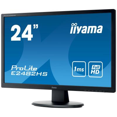 "Iiyama ProLite E2482HS-B1 24"" Full HD TN - Desktop Monitor - Zwart"