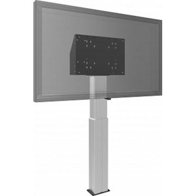 SmartMetals Vloerlift voor (touch-) flatscreens max. 120 kg TV standaard - Aluminium, Zwart