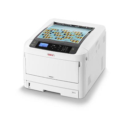 OKI C824dn Laserprinter - Zwart, Wit