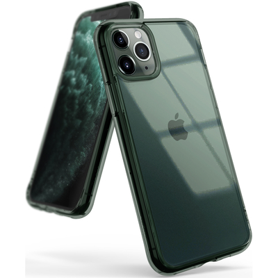 Ringke Fusion Backcover iPhone 11 Pro Max - Groen - Groen / Green Mobile phone case