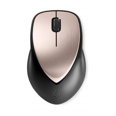 Hp computermuis: ENVY Rechargeable 500 - Zwart, Roze