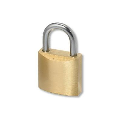 Techly hangslot: Padlock for Wall Brackets Security Systems ICA-PLB LOCK - Geelkoper, Roestvrijstaal