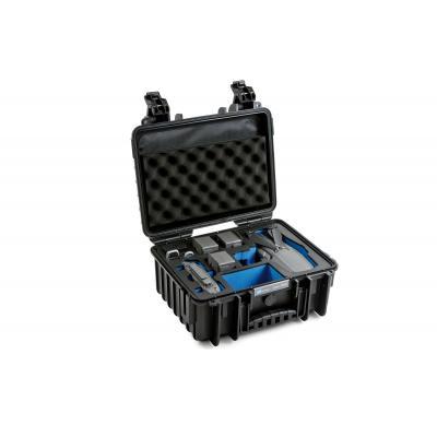 B&W type 3000 case for DJI Mavic 2 V2 (Pro/Zoom), black - Geel