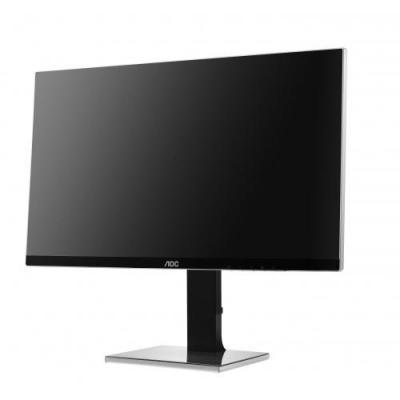 """Aoc monitor: 68.58 cm (27 """") , 3840x2160, D-Sub, DVI, HDMI, MHL, DisplayPort, 4ms - Zwart"""