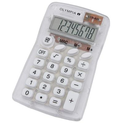 Olympia LCD 825 Calculator - Transparant
