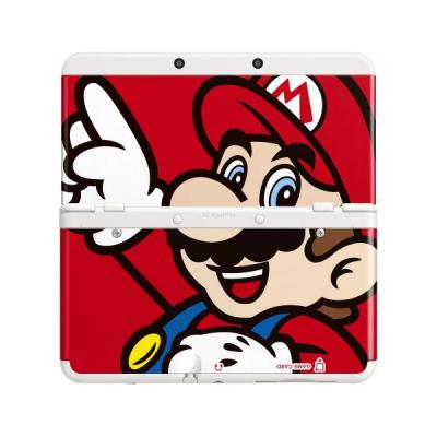 Nintendo portable game console case: New 3DS Cover Plate 001 - Multi kleuren