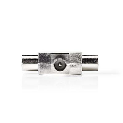 Nedis CSGP40951ME Kabel splitter of combiner - Zilver