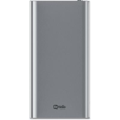 Behello powerbank: Fast Charging 3.0, 12000 mAh, Silver - Zilver