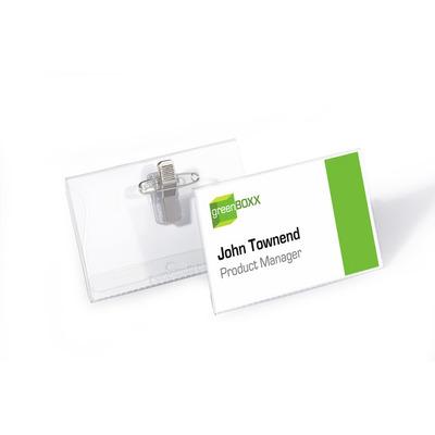 Durable 8101-19 Badge - Transparant