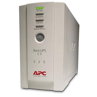 APC Back-325VA noodstroomvoeding 4x C13 uitgang UPS - Beige