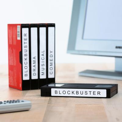 Herma etiket: Video labels A4 147.3x20 mm white paper matt 325 pcs. - Wit