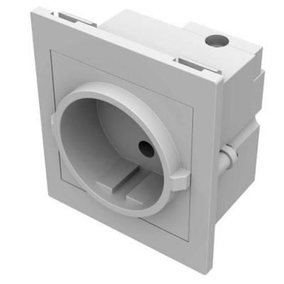 Vision inbouweenheid: TC2 PWREU European electrical power socket - Wit