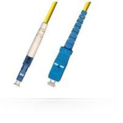 Microconnect fiber optic kabel: 3m, LC/UPC - SC/UPC