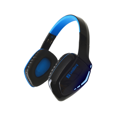 Sandberg Blue Storm Wireless Headset - Zwart,Blauw