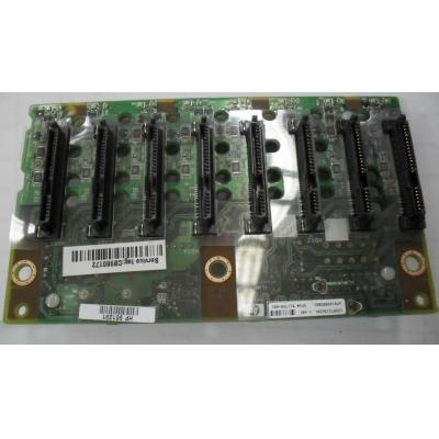 Hewlett packard enterprise Computerkast onderdeel: SAS/SATA 8-Bay Hard Drive Expansion Cage Backplane Board Assembly .....